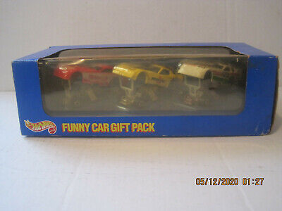 hot wheels funny car gift pack 3 car set new in the pack