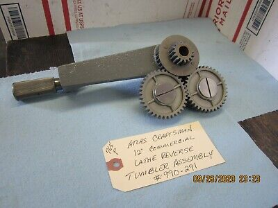 Atlas Craftsman 12 Commercial Lathe Reverse Tumbler Assembly 990-291