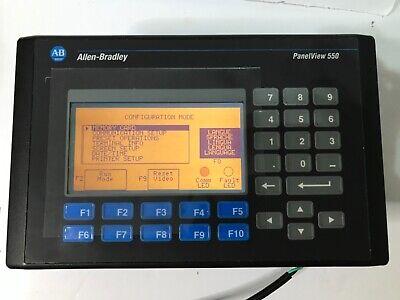 Allen Bradley 2711-k5a5 F Panelview 550 Monokeypadrs232dh-485 Frn 4.48