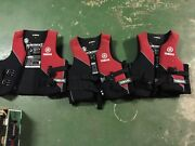 Yamaha life jackets Type 50 PFD - near new - $75ea Springwood Logan Area Preview