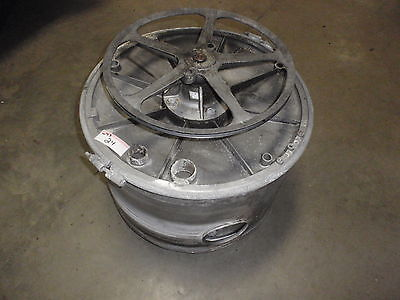 Wascomat Commercial Washing Machine W73 Main Drum And Pulley