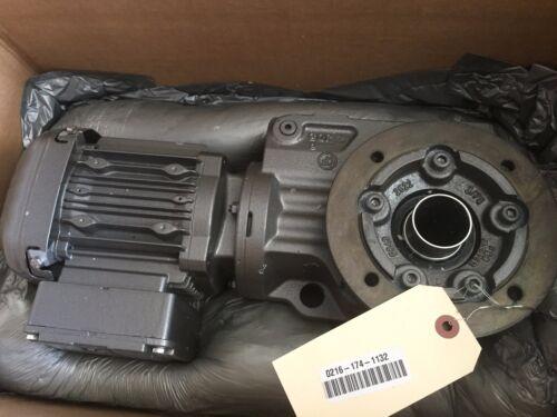 NEW SEW-EURODRIVE KTF37DRS71S4/DH MOTOR W/GEAR DRIVE 1700rpm .25hp,BOXYQ
