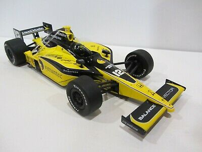 2008 TOMAS SCHECKTER signed 1:18 INDIANAPOLIS 500 GREENLIGHT DIECAST INDY CAR