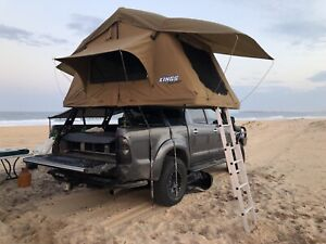 Rooftop Tent & Tub rack