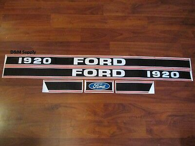 Tractor Decal Set Stickers To Fit 1920 Ford  1115-1570