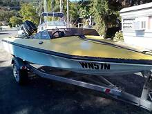 14 foot swiftcraft ski/fish/70hp/trailer Woy Woy Gosford Area Preview