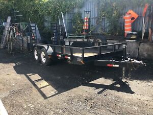 Flatbed trailer A1
