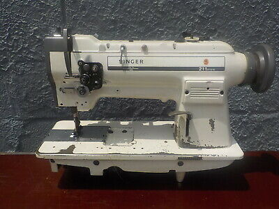 Industrial Sewing Machine Model Singer 211-967 Single Walking Foot- Leather