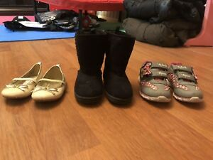 Toddler Girls Size 8 Shoes and Boots LIKE NEW!