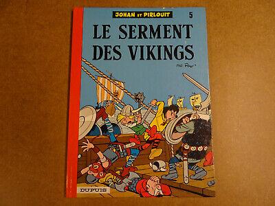 BD / JOHAN ET PIRLOUIT T.5 - LE SERMENT DES VIKINGS