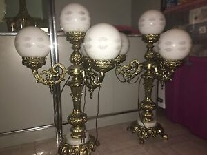 2 side table lamps  Cambridge Kitchener Area image 4