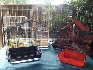 Bird Cage Bundle - 5 x cages & some accessories