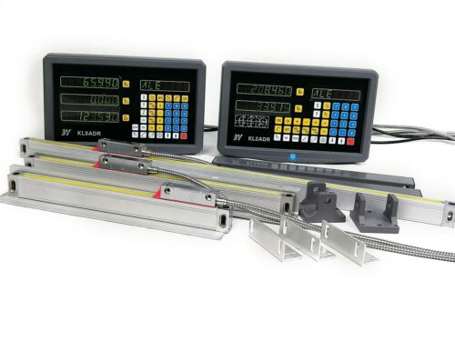 2/3Axis DRO Digital Readout for Milling Lathe Machine + Line
