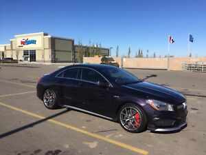 2014 Mercedes CLA45 AMG 355hp Turbo AWD, winter tires/BBS rims