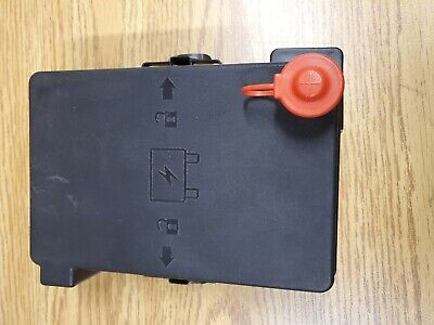 2008 - 2010 CHEVY CHEVROLET COBALT FUSE RELAY BOX COVER LID 08 09 10 OEM Black