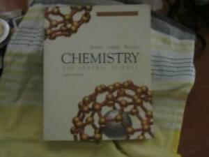Textbook Chemistry, The Central Science  8th edition