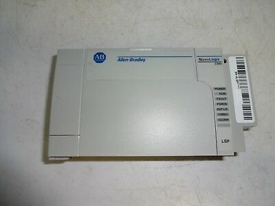 Allen-bradley Micrologix 1500 Processor Unit 1764-lsp Ser C Fw 12 Tested 2013
