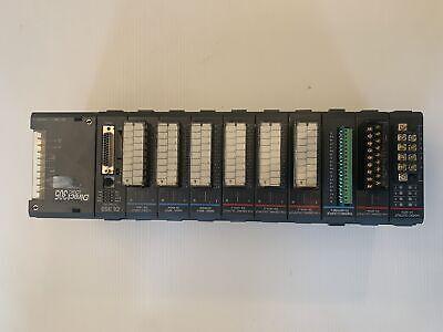 Koyo Direct Logic 205 Cpu Plc With 10 Modules D3-08td1 16ta 16na F308thm-n