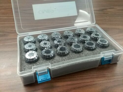 18pcs/set ER32 COLLET  SET Complete Sizes including all 32nds #ER32-SET18-New