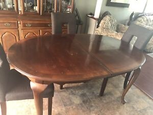 $60 couch, chair, dining room table and chairs and coffee table
