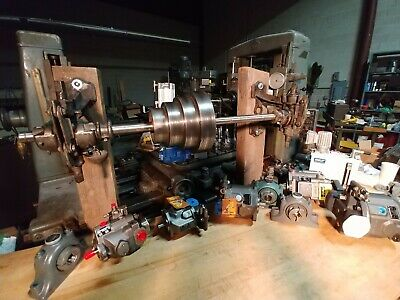 Vintage 1917 South Bend Lathe 14x66 Clausing Monarch Leblond Hardinge