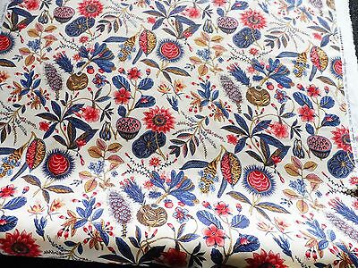 THE DESIGN ARCHIVES FABRIC - EXOTIC FRUITS. PRICE PER METRE