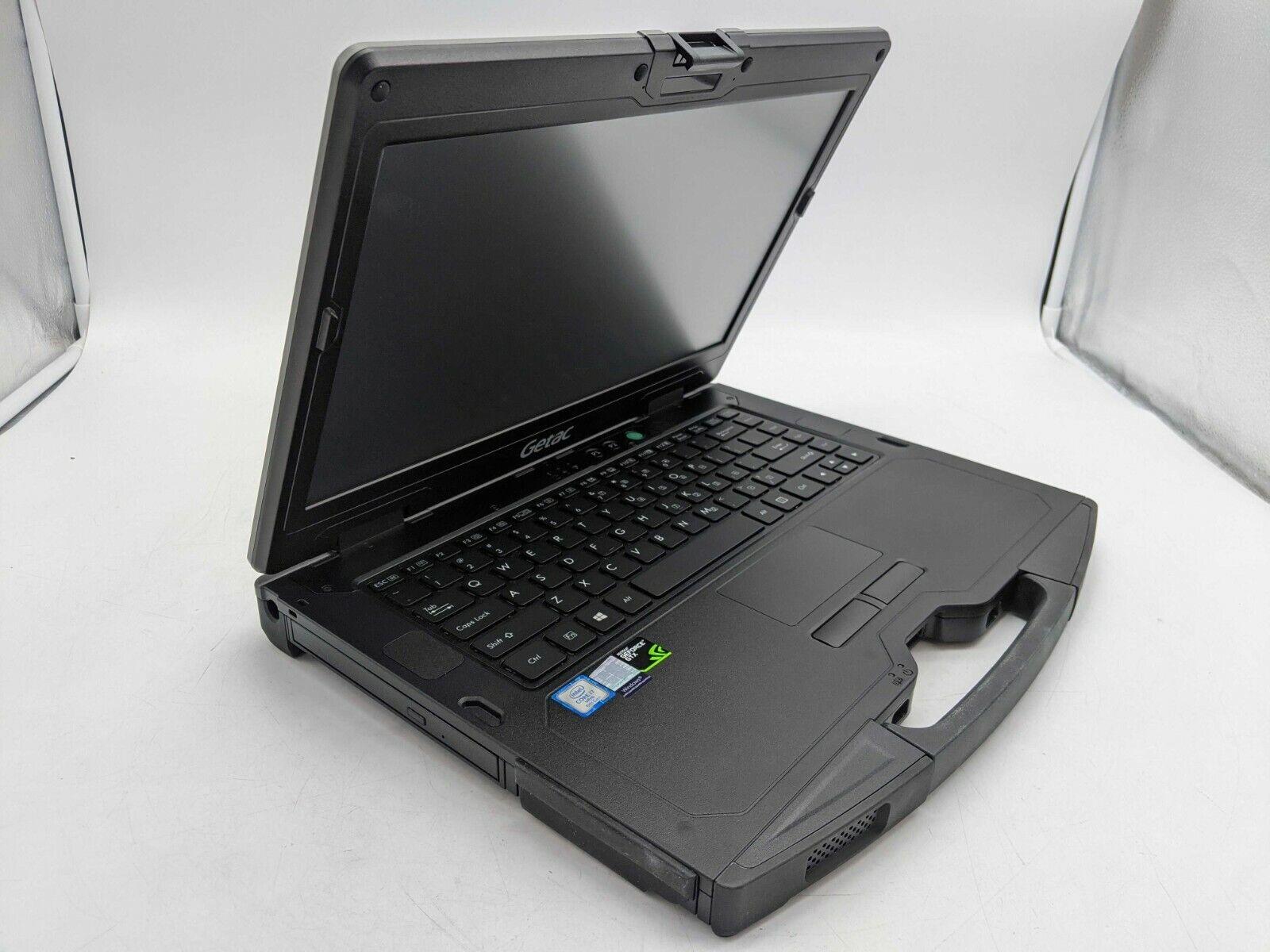GETAC S410 G2 i7-8650U 16GB DDR4 Windows 10 512GB SSD GeForc