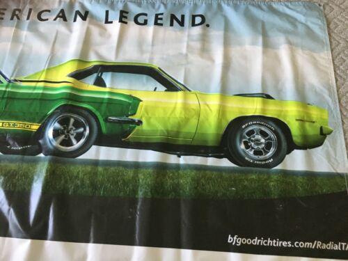 "ORIGINAL BF GOODRICH  50""X114"" Banner.  Cuda Vette Shelby Mustang.  It's HUGE!!!"