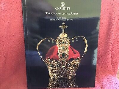 Christies New York ~ Jewels ~ The Crown Of The Andes November 1995
