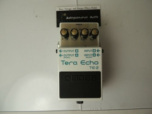 Boss TE-2 Tera Echo Delay Effects Pedal Free USA Shipping