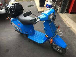 1984 Honda Aero 50cc Scooter SAFETIED