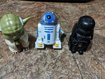 Star Wars~Disney Store~Trigger Flash Lights Lot of 3~RTD2,Darth Vader,Yoda