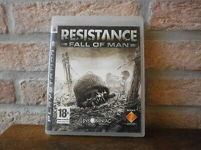 Jeu PS3 vidéo Blu-ray Disc RESISTANCE FALL OF MAN   pour Playstation 3