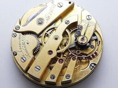 high grade ASSMANN GLASHÜTTE Taschen pocket watch not working need service K191