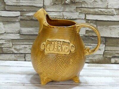 Jose Cuervo Vintage 1975 Tequila Pitcher Jug Stoneware Pottery Hublein