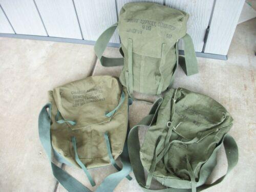 (1) USGI M183 Demolition Charge Bag w/ Sling OD Cotton Demo Bag