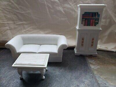 Vintage Barbie Living Room Furniture White