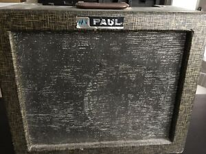 SOLD ****Paul 115v 60 cycles 0.5 amps amplifier