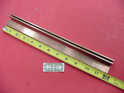 3 Pieces 18 X 34 C110 Copper Bar 12 Long Solid Flat Mill Bus Bar Stock H02