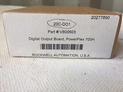 Rockwell Automation Allen-bradley 20c-do1 Part Vb00603 Nib