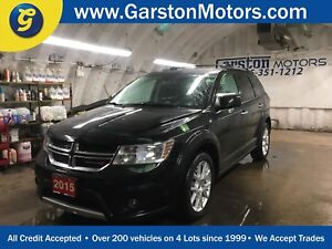 2015 Dodge Journey R/T*AWD*LEATHER*U CONNECT PHONE*BACK UP CAMER