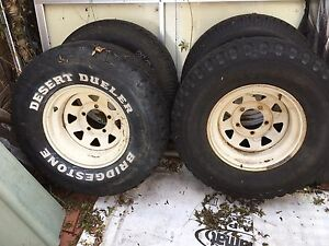 F100 Rims and tyres Wilson Canning Area Preview