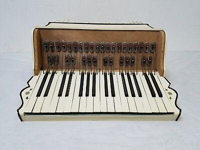 Vintage La Tosca Alberto Lizzi Intermediate 34/48 Piano Accordion For Repair