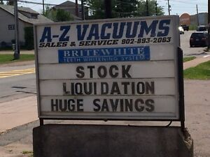 Vacuums  and supplies