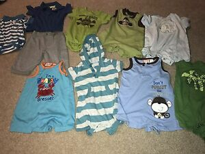 Baby boy summer clothes 0-3 & 3-6 months