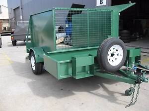 Mower Trailer 7x5 Single Axle Braked From Forward Trailers Aust Carrum Downs Frankston Area Preview