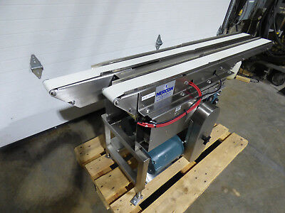 Nercon Dual Lane Conveyor Diverter 2.75 X 58-64 Stainless Steel Way Kool