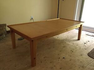 Pine (solid) Play or Coffee Table