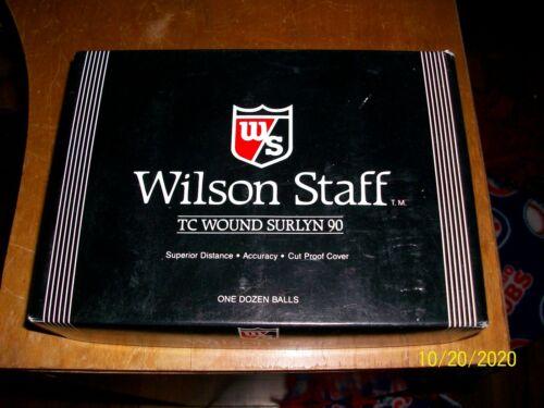 JACK DANIELS OLD NO 7 WHISKEY LOGO 1 DOZEN WILSON STAFF Golf Balls, NOS