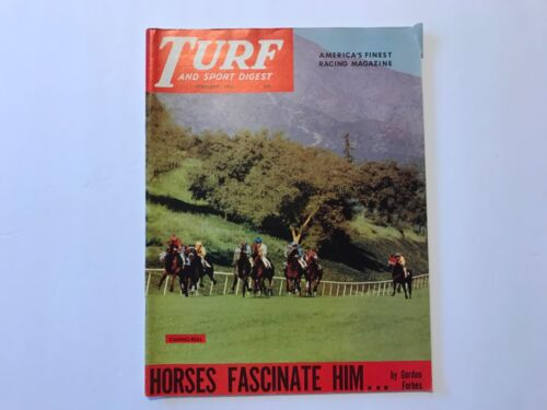 Turf and Sport Digest Horse Racing Feb 1961